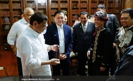 Duterte meets with MNLF founder Misuari
